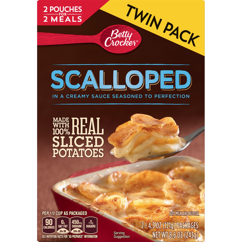 Betty Crocker Scalloped Potatoes, 8.6 oz