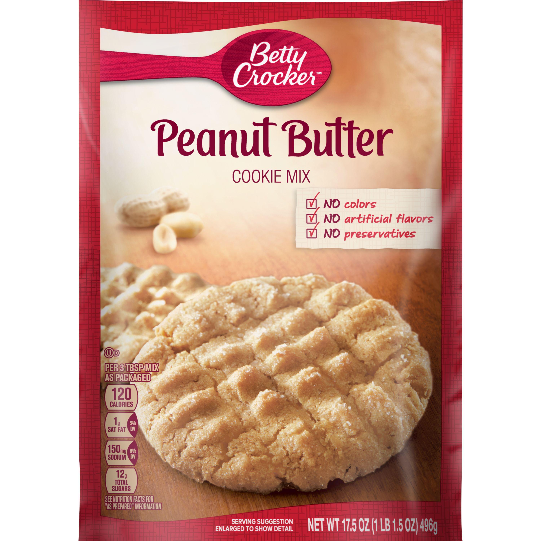 Betty Crocker Peanut Butter Cookie Mix, 17.5 oz