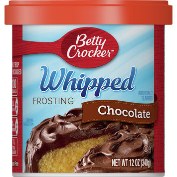 Betty Crocker Whipped Chocolate Frosting, 12 oz
