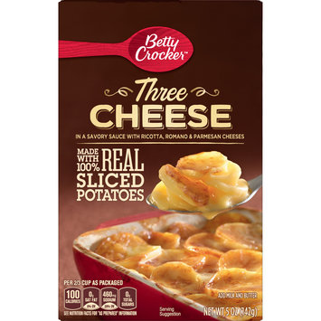 Betty Crocker Three Cheese Potatoes, 5 oz
