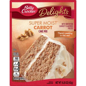 Betty Crocker Super Moist Carrot Cake Mix, 15.25 oz