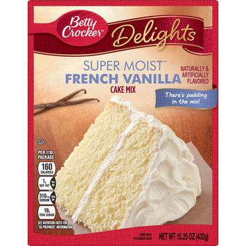 Betty Crocker Super Moist French Vanilla Cake Mix, 15.25 oz