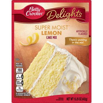 Betty Crocker Super Moist Lemon Cake Mix, 15.25 oz