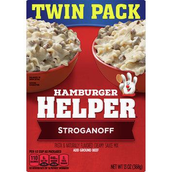 Betty Crocker Hamburger Helper Stroganoff Pasta and Creamy Sauce Mix , 13 oz