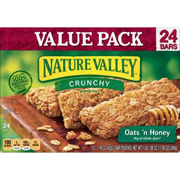 Nature Valley Granola Bars  Crunchy, Oats 'n Honey, 17.88 Ounce