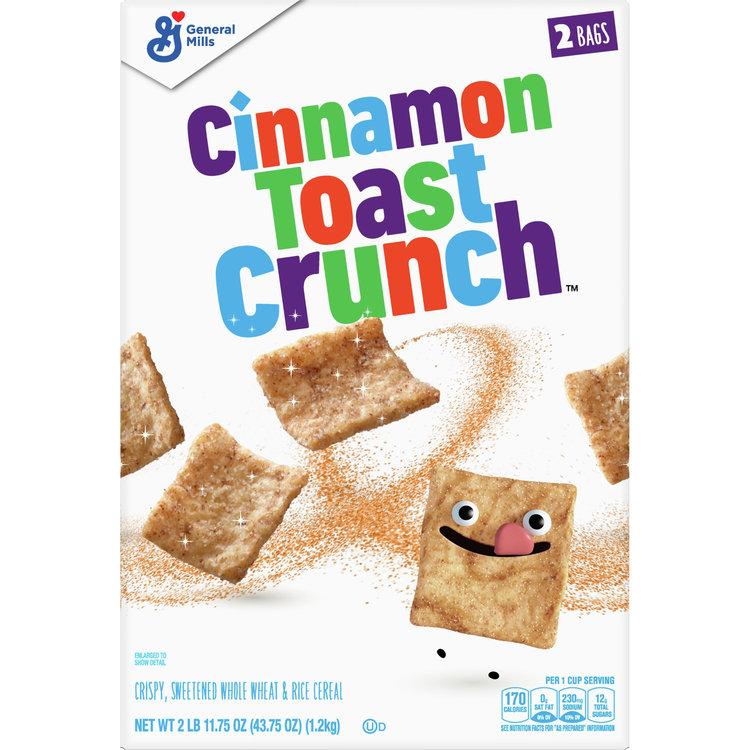 Cinnamon Toast Crunch Cereal, 43.75 oz