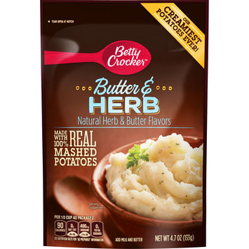 Betty Crocker Homestyle Butter and Herb Potatoes, 4.7 oz