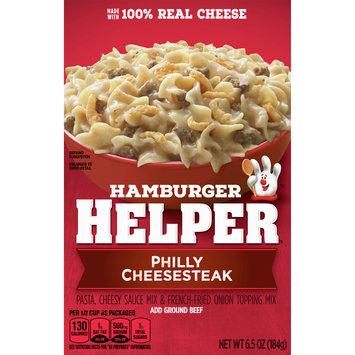 Betty Crocker Hamburger Helper, Philly Cheesesteak Hamburger Helper, 6.5 Oz. Box