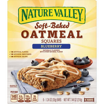 Nature Valley Soft-Baked Oatmeal Squares Blueberry, 7.44 oz