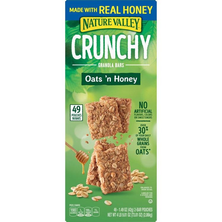 Nature Valley Oats 'N Honey Crunchy Granola Bars, 73.01 oz
