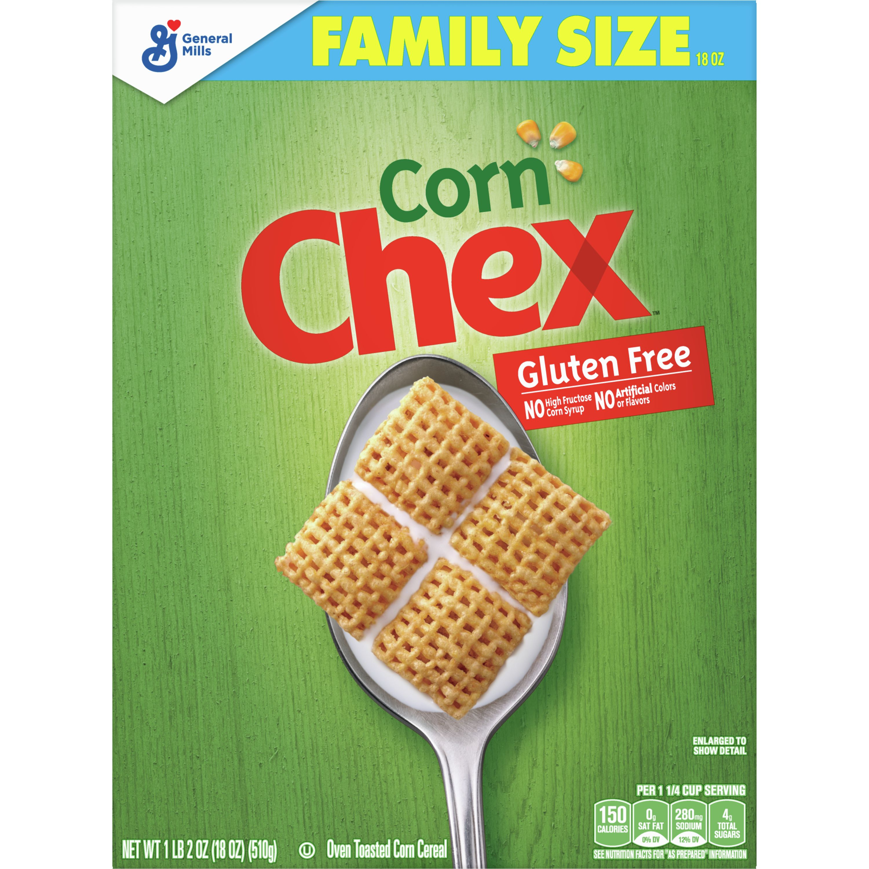 Corn Chex Cereal, Gluten Free, 18 oz