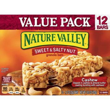 Nature Valley Granola Bars  Sweet & Salty Nut, Cashew, 12 Bars, 1.2 oz