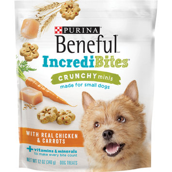 Purina Beneful IncrediBites Crunchy Minis With Real Chicken & Carrots Dog Treats