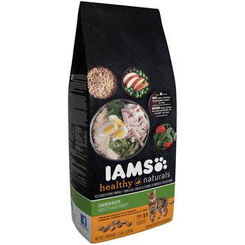 Iams Healthy Naturals Chicken Recipe Adult 1+ Years Premium Cat Food