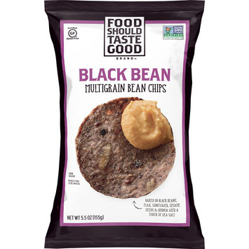 Food Should Taste Good Black Bean Multigrain Chips, Gluten Free 5.5 oz