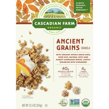 Cascadian Farm Organic Ancient Grains Granola, 12.5 oz