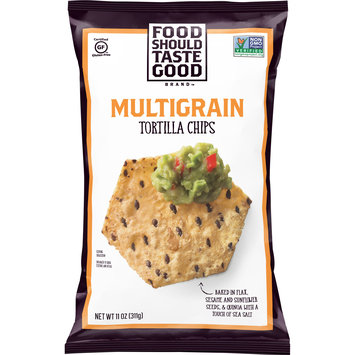Food Should Taste Good Multigrain Tortilla Chips, Gluten Free, 11 oz