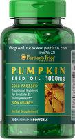 Puritan's Pride Pumpkin Seed Oil 1000 mg-100 Softgels