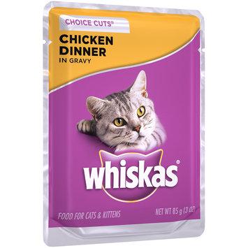 Whiskas® Choice Cuts® Chicken Dinner in Gravy Wet Cat Food