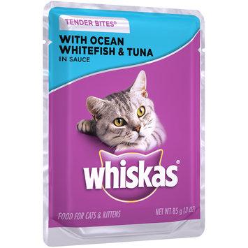 Whiskas® Tender Bites® with Ocean Whitefish & Tuna in Sauce Wet Cat Food