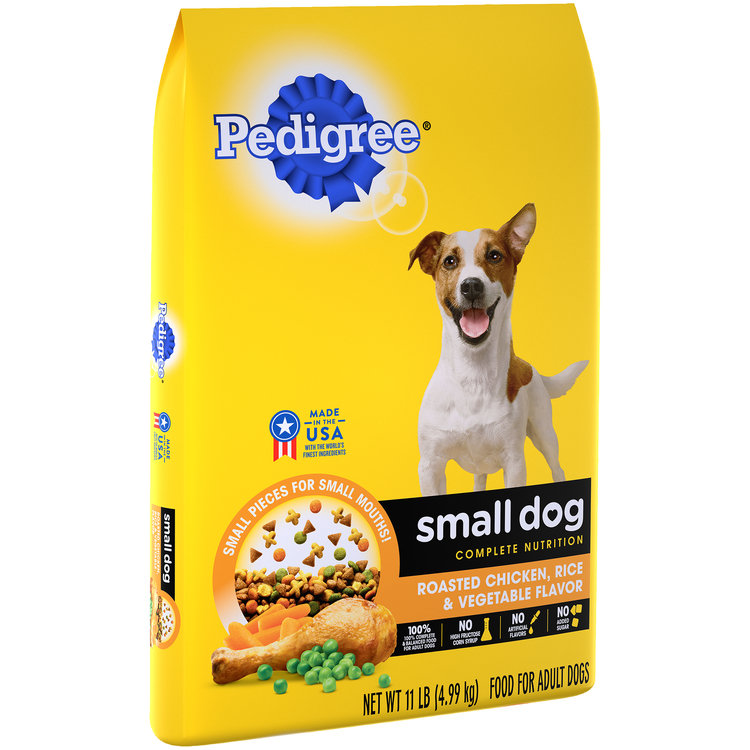 Pedigree® Small Dog Complete Nutrition Roasted Chicken, Rice & Vegetable Flavor Adult Dog Food