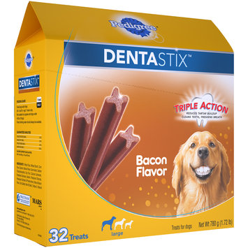 Pedigree® Dentastix™ Bacon Flavor Large Dog Treats