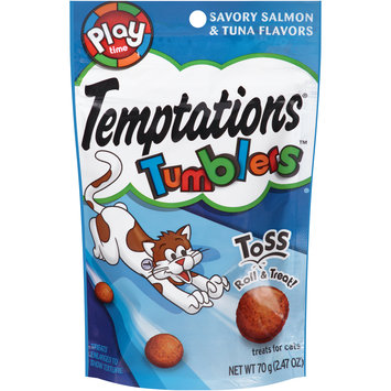 Temptations® Tumblers™ Savory Salmon & Tuna Flavors Treats for Cats