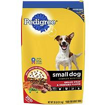 Pedigree® Small Dog Complete Nutrition Grilled Steak & Vegetable Flavor Small Breed Dry Dog Food