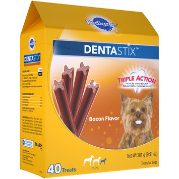 Pedigree® Dentastix™ Bacon Flavor Mini Dog Treats