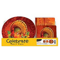 Daily Chef Thanksgiving Harvest Party Pack Plates and Napkins (150 ct.)