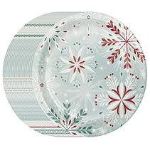 Member's Mark Wonderland Frost Paper Plates, 10.25