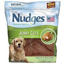 Nudges Chicken Jerky 40 oz