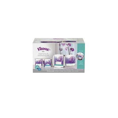 Kleenex Facial Cleansing & Exfoliating Kit