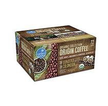 Nanland Organic Collection Origin Coffee Variety Pack (0.36 oz. ea, 72 ct.)