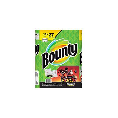 Bounty Printed Paper Towels Featuring Incredibles
