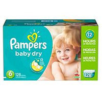 Pampers Baby Dry Diapers Size 1 Economy Pack Plus