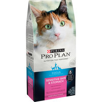 Purina Pro Plan FOCUS Sensitive Skin & Stomach Lamb & Rice Formula Adult Dry Cat Food - 3.5 lb. Bag