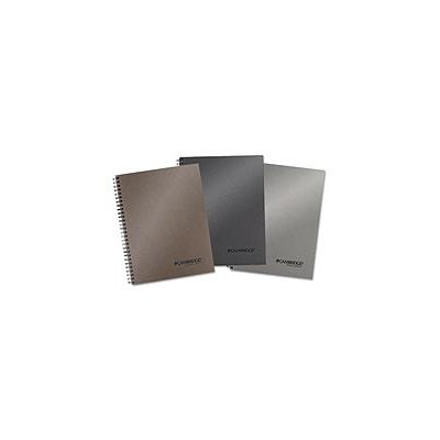 Cambridge Limited - Metallic Business Notebook Plus Pack, 7 1/4 x 9 1/2, Assorted, 80 Sheets - 3/Pack