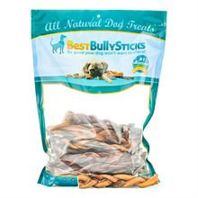 Best Bully Sticks 8 Inch Braided Bully Sticks - 25 pack