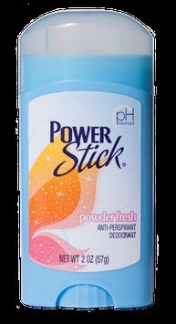 Power Stick Lady's Powder Fresh Antiperspirant Deodorant Stick 2 oz.