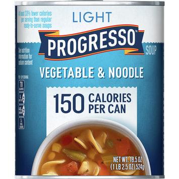 Progresso Light Vegetable and Noodle Soup, 18.5 oz