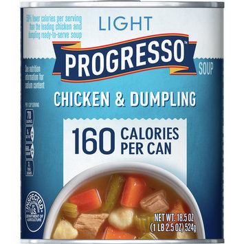 Progresso Light Chicken and Dumpling Soup, 18.5 oz
