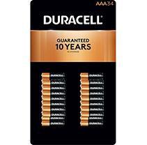 Duracell Coppertop Alkaline AAA Batteries - 34 pk