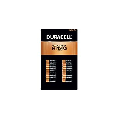 Duracell Coppertop Alkaline AAA Batteries - 34 pk