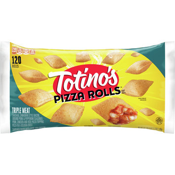 Totino's Frozen Pizza Rolls, Triple Meat, 120 rolls