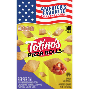 Totino's Pizza Rolls, Pepperoni, 140 Rolls, 69.2 oz Bag