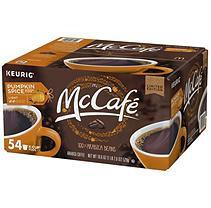 McCafe Pumpkin Spice Coffee K-Cups (18.6 oz, 54 ct.)