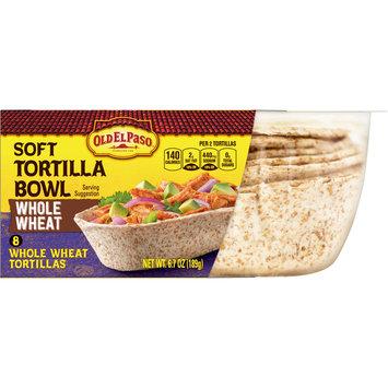 Old El Paso Taco Boats Whole Wheat Tortillas, 8 Ct, 6.7 oz