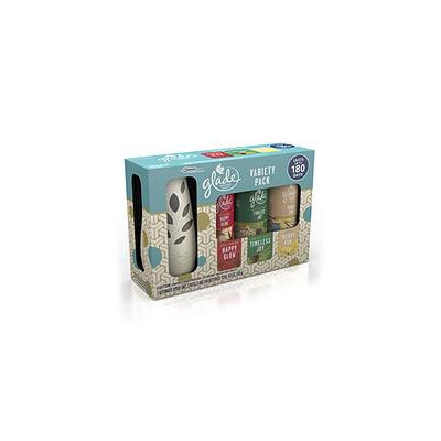 Glade Automatic Spray Starter + 3 Refills, Mixed Pack