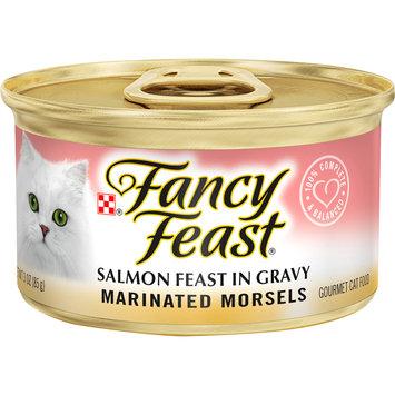 Purina Fancy Feast Marinated Morsels Salmon Feast in Gravy Wet Cat Food -